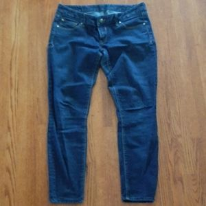 Express slim fit, ultra low rise jeans